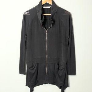 Demo Parkchoonmoo black top tunic